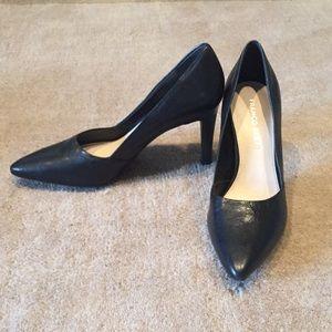 Franco Sarto Black Classic Heels